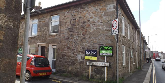 Offers Over £99,950, For Sale in Camborne, TR14