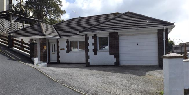 Asking Price £435,000, 3 Bedroom Detached Bungalow For Sale in Falmouth, TR11