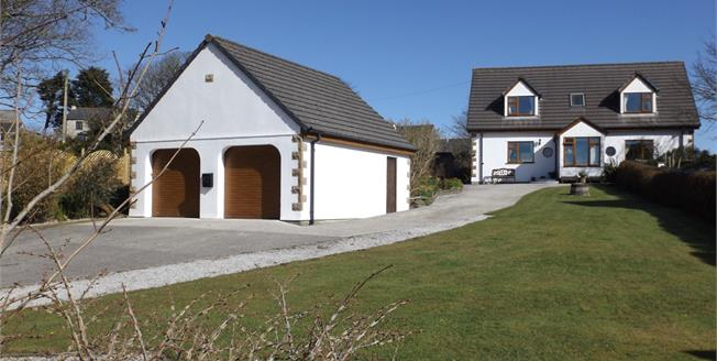 Guide Price £425,000, 4 Bedroom Detached House For Sale in Carnkie, TR13