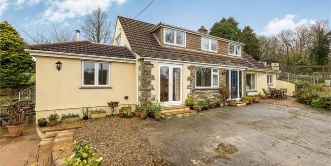 Guide Price £500,000, 4 Bedroom Detached Bungalow For Sale in Garras, TR12
