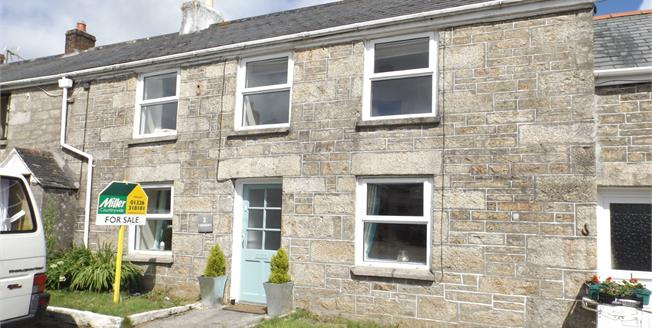 Asking Price £260,000, 4 Bedroom Terraced Cottage For Sale in Stithians, TR3