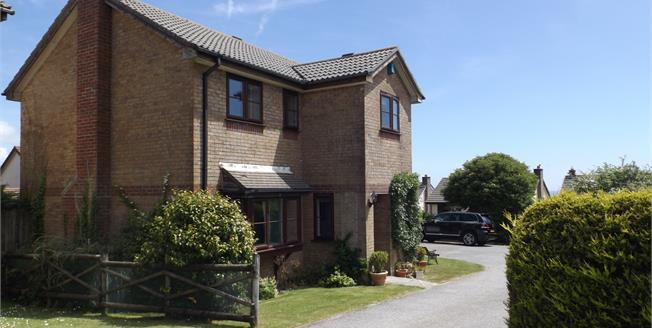 Asking Price £460,000, 4 Bedroom Detached House For Sale in Falmouth, TR11