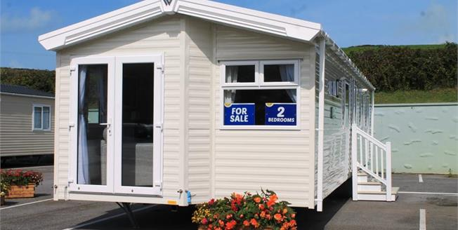 £59,646, 2 Bedroom Detached Mobile Home For Sale in Newquay, TR8