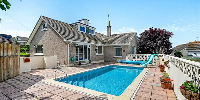 Asking Price £425,000, 5 Bedroom Detached Bungalow For Sale in Newquay, TR7