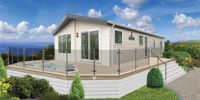 £124,995, 3 Bedroom Detached Mobile Home For Sale in Newquay, TR8