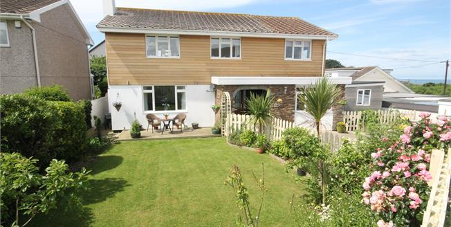 Asking Price £415,000, 5 Bedroom Detached House For Sale in Trevarrian, TR8