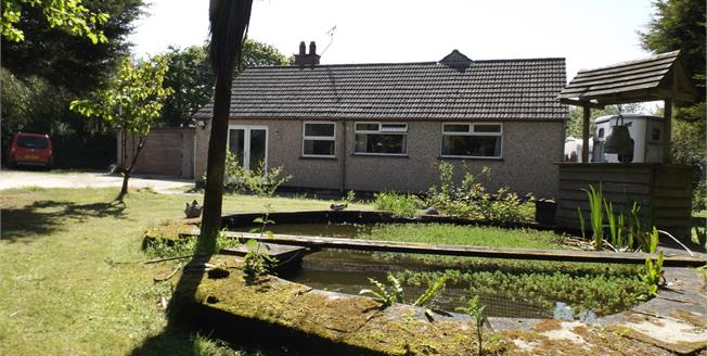 Asking Price £325,000, 4 Bedroom Detached Bungalow For Sale in White Cross, TR8