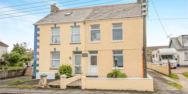 Asking Price £240,000, 3 Bedroom Semi Detached House For Sale in Indian Queens, TR9