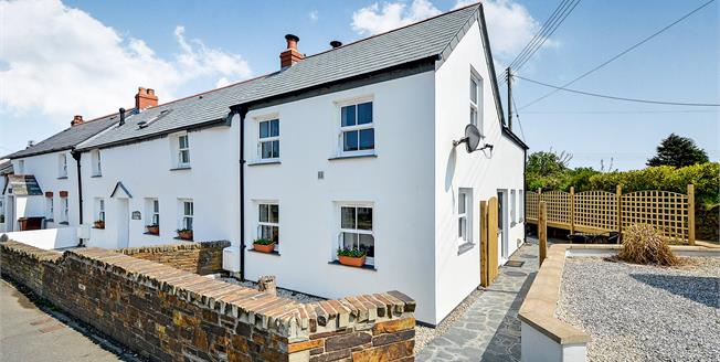 Guide Price £325,000, 2 Bedroom End of Terrace Cottage For Sale in St. Merryn, PL28