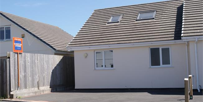 Guide Price £145,000, 2 Bedroom End of Terrace Bungalow For Sale in St. Merryn, PL28