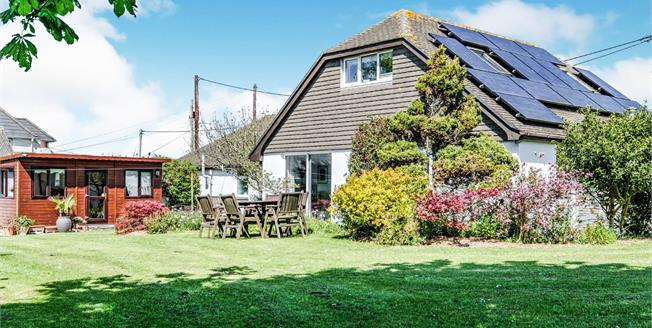 Guide Price £585,000, 4 Bedroom Detached Bungalow For Sale in High Lanes, PL27