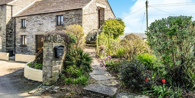 Guide Price £325,000, 2 Bedroom Semi Detached House For Sale in Cornwall, PL27