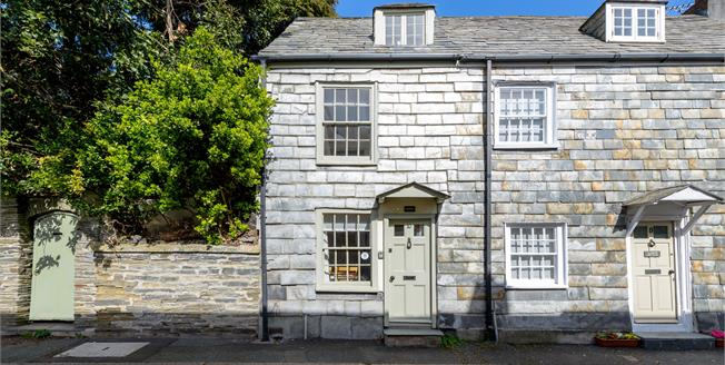 Guide Price £445,000, 2 Bedroom End of Terrace Cottage For Sale in Padstow, PL28