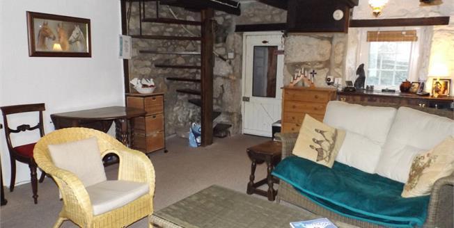 Asking Price £190,000, 2 Bedroom Terraced House For Sale in Nancledra, TR20