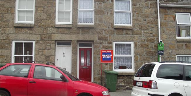 Asking Price £159,500, 2 Bedroom Terraced House For Sale in Penzance, TR18