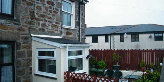 Guide Price £125,950, 2 Bedroom End of Terrace Cottage For Sale in Redruth, TR15