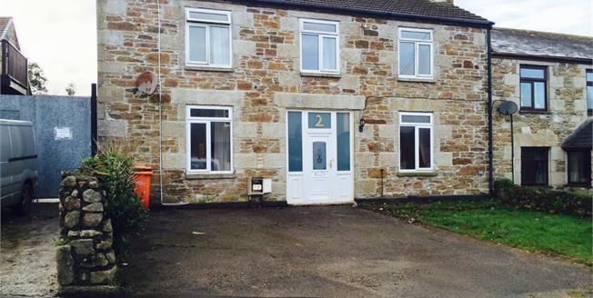 Guide Price £179,950, 3 Bedroom Semi Detached House For Sale in Redruth, TR15