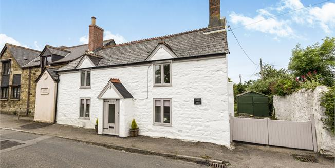 Asking Price £265,000, 2 Bedroom Semi Detached Cottage For Sale in Illogan, TR16