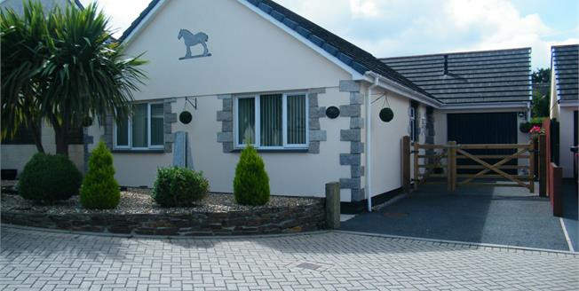 Guide Price £250,000, 3 Bedroom Detached Bungalow For Sale in Redruth, TR15