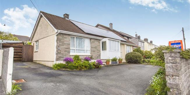 £200,000, 3 Bedroom Detached Bungalow For Sale in St. Austell, PL25