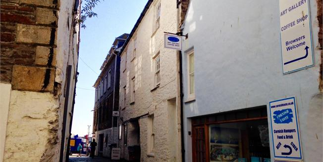 £187,500, 3 Bedroom Terraced House For Sale in Mevagissey, PL26