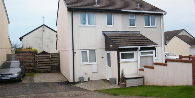 Asking Price £129,000, 2 Bedroom Semi Detached House For Sale in Roche, PL26
