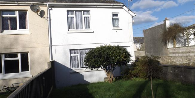 Asking Price £180,000, 3 Bedroom Semi Detached House For Sale in Fowey, PL23