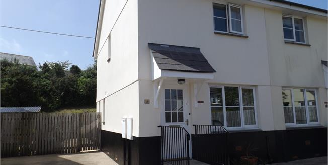 Asking Price £160,000, 2 Bedroom Semi Detached House For Sale in St. Austell, PL25