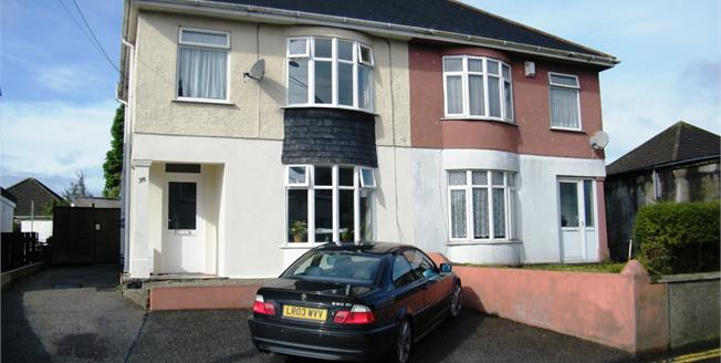 Asking Price £164,950, 3 Bedroom Semi Detached House For Sale in St. Austell, PL25