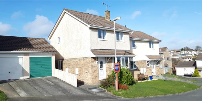 Guide Price £195,000, 3 Bedroom Semi Detached House For Sale in St. Austell, PL25