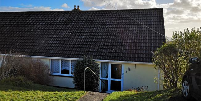 Guide Price £210,000, 3 Bedroom Semi Detached Bungalow For Sale in St. Austell, PL25