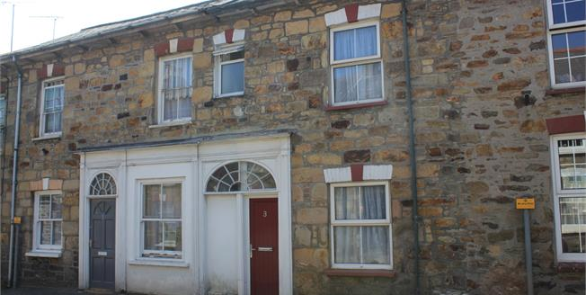 Offers in excess of £95,000, 1 Bedroom Terraced Cottage For Sale in Chacewater, TR4