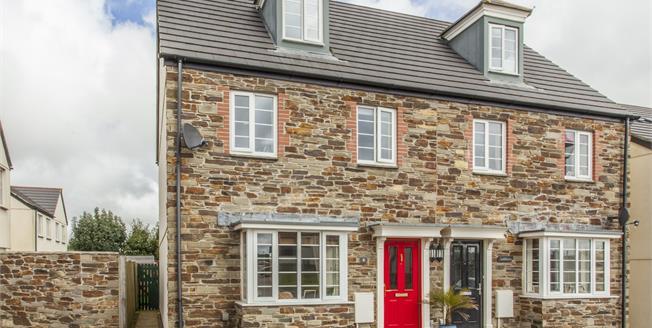 Asking Price £245,000, 4 Bedroom Semi Detached House For Sale in Trispen, TR4