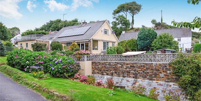Offers in excess of £550,000, 4 Bedroom Detached Bungalow For Sale in Portloe, TR2