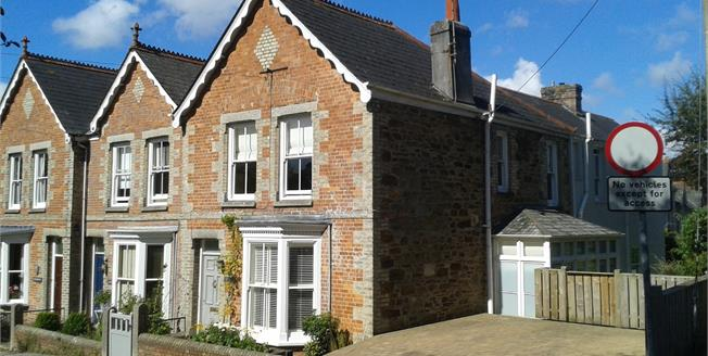 Offers in excess of £400,000, 4 Bedroom End of Terrace House For Sale in Truro, TR1