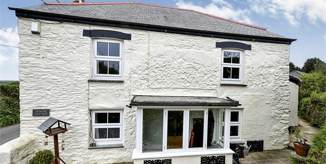 Guide Price £260,000, 2 Bedroom Semi Detached Cottage For Sale in Feock, TR3