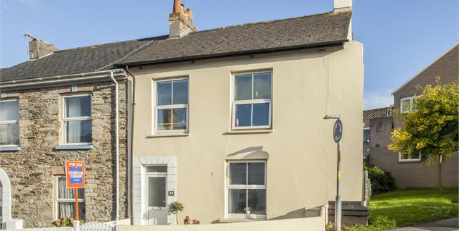 Guide Price £240,000, 3 Bedroom End of Terrace House For Sale in Truro, TR1