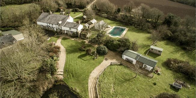 Offers in excess of £995,000, 7 Bedroom Detached House For Sale in Colan, TR8