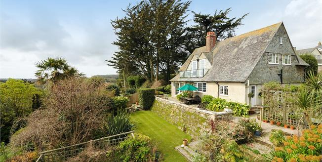 Guide Price £750,000, 5 Bedroom Detached House For Sale in Lelant, TR26