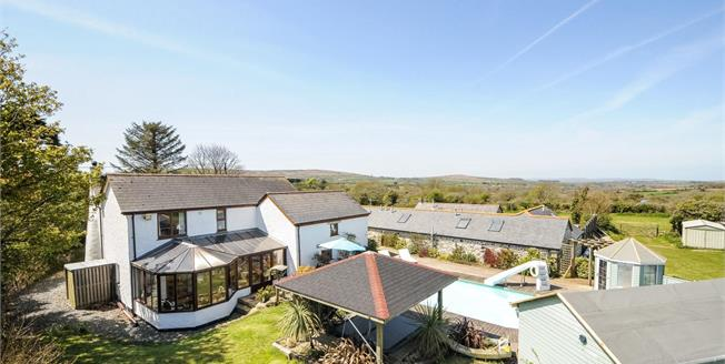 Offers Over £800,000, 5 Bedroom Detached House For Sale in Breage, TR13