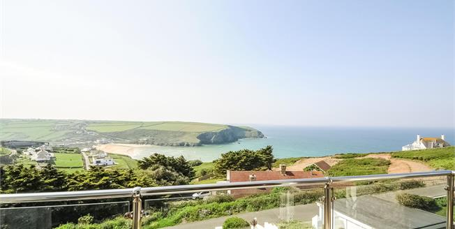 Offers in excess of £1,250,000, 6 Bedroom Detached House For Sale in Mawgan Porth, TR8