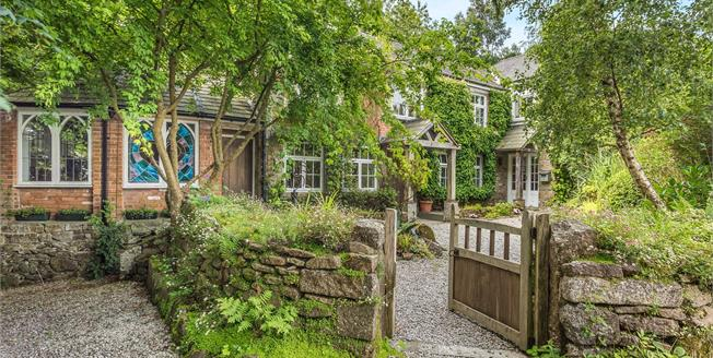 Guide Price £565,000, 3 Bedroom Detached Cottage For Sale in Gulval, TR18