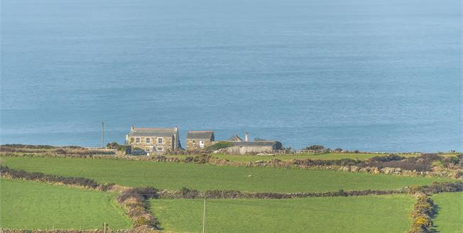 Guide Price £675,000, 4 Bedroom Detached House For Sale in Zennor, TR26