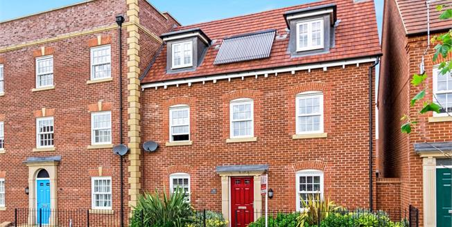 Asking Price £290,000, 4 Bedroom End of Terrace House For Sale in Great Denham, MK40