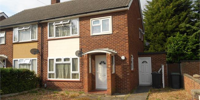 Asking Price £230,000, 3 Bedroom End of Terrace House For Sale in Bedford, MK41