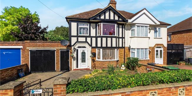 Asking Price £280,000, 3 Bedroom Semi Detached House For Sale in Bedford, MK42