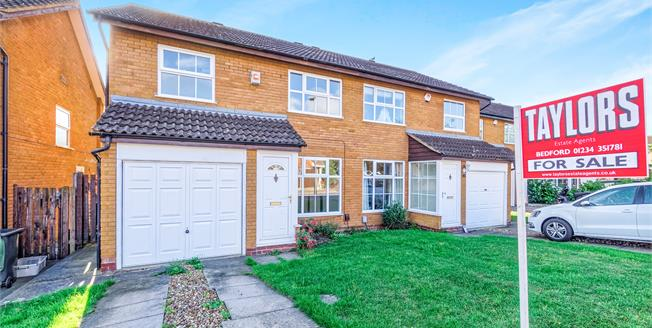 Offers in excess of £250,000, 3 Bedroom Semi Detached House For Sale in Bedford, MK41