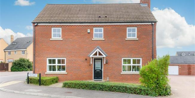 Guide Price £425,000, 4 Bedroom Detached House For Sale in Bedford, MK41