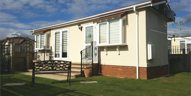 Guide Price £110,000, 1 Bedroom Mobile Home For Sale in Lower Stondon, SG16