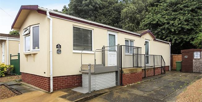 Offers in excess of £70,000, 2 Bedroom Mobile Home For Sale in Peterborough, PE1